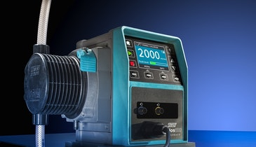 A Peristaltic Metering Pump Helps Cut Chemical Costs In Water And Wastewater Applications