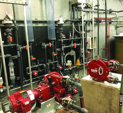 Upgrade Transition: Nashville Keeps Plant Humming During Chemical Feed Installation