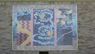 Kenosha Water Utility's Mosaics Aren't Your Average Murals