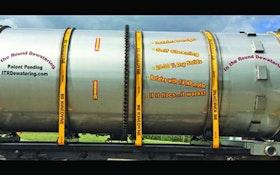 Dewatering Equipment - In The Round Dewatering Drum