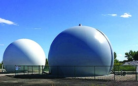 Storage Tanks - JDV Equipment Corporation Double Membrane Biogas Holder