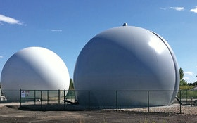 Biogas - JDV Equipment Double Membrane Biogas Holder