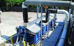 Biosolids Handling/Hauling/ Disposal/Application - Dumpster cover system