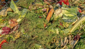 How Adding Food Waste Can Double Gas Production
