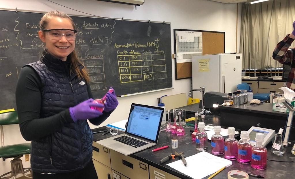 NAWT Scholarship Winner Takes Winding Path to Wastewater Career