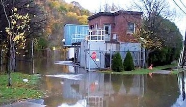 N.Y. wastewater treatment plant back online after Sandy-related shutdown