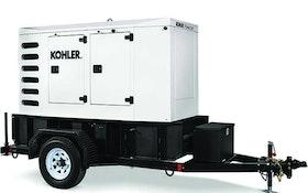KOHLER diesel-powered mobile generator