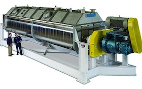 Biosolids Heaters/Dryers/Thickeners - Biosolids drying system