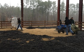 Kruger participates in therapeutic riding program for people with specials needs