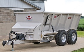 Solids Hauling/Application - Commercial manure spreader