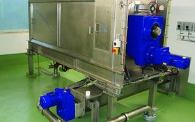 Belt Filter/Rotary Presses - Slow-rotating screw press