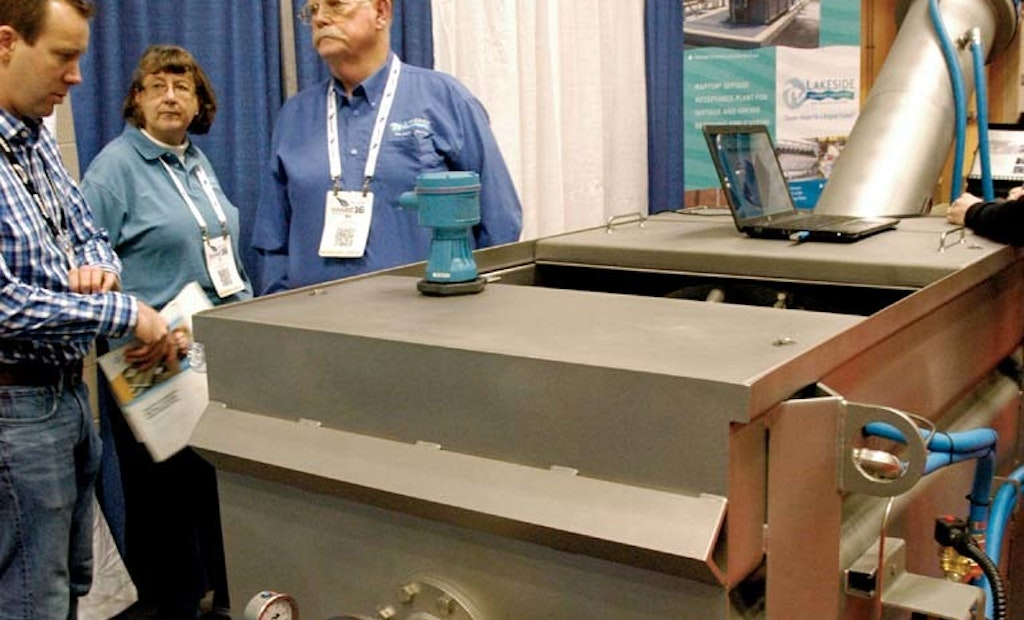 Lakeside Equipment Gets Enthusiastic Response with Trade Show Display
