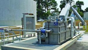 Septage Receiving Stations - Lakeside Equipment Raptor Septage Acceptance Plant