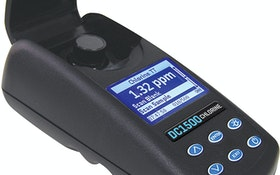 LaMotte's Waterproof Chlorine Colorimeter Meets Tough Field Standards