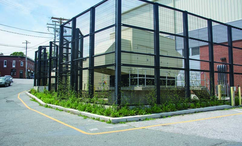 Living Fencing Solution Blends Aesthetics and Security