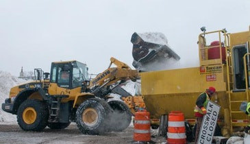 East Coast Municipalities Prepare For Spring Snowmelt