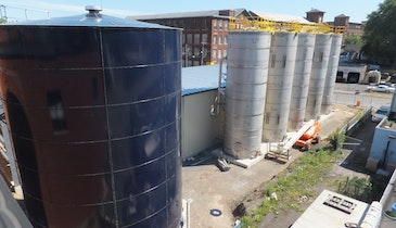 Brewery's anaerobic digester system reduces loading to municipal wastewater treatment plant