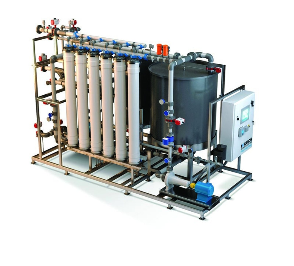 A Hollow-Fiber Ultrafiltration System Suits | Treatment Plant Operator