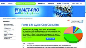 Pump Parts/Supplies/Service - Met-Pro Global Pump Solutions online calculator