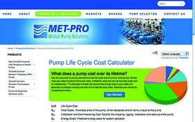 Pump Parts/Supplies/Service - Met-Pro Global Pump Solutions online calculator