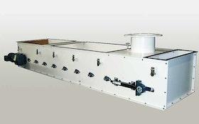 Metalfab volumetric belt feeder