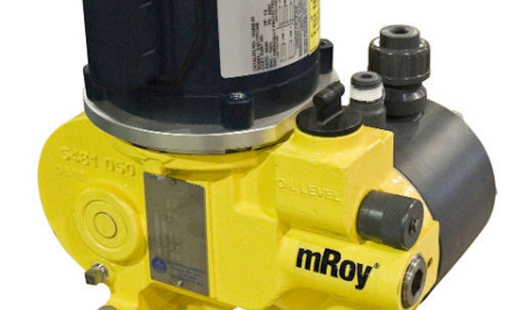 mROY Series Metering Pumps Set the Standard