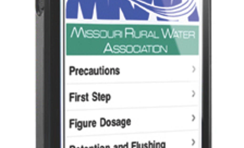 MRWA Creates Free Apps for Wastewater Industry