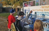 A Water Wagon In Wisconsin's Capital Carries A Message About Tap Water Quality