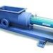 Screw Conveyors - Biosolids cake conveying system