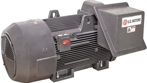 Nidec medium-voltage TITAN TEFC horizontal large motors