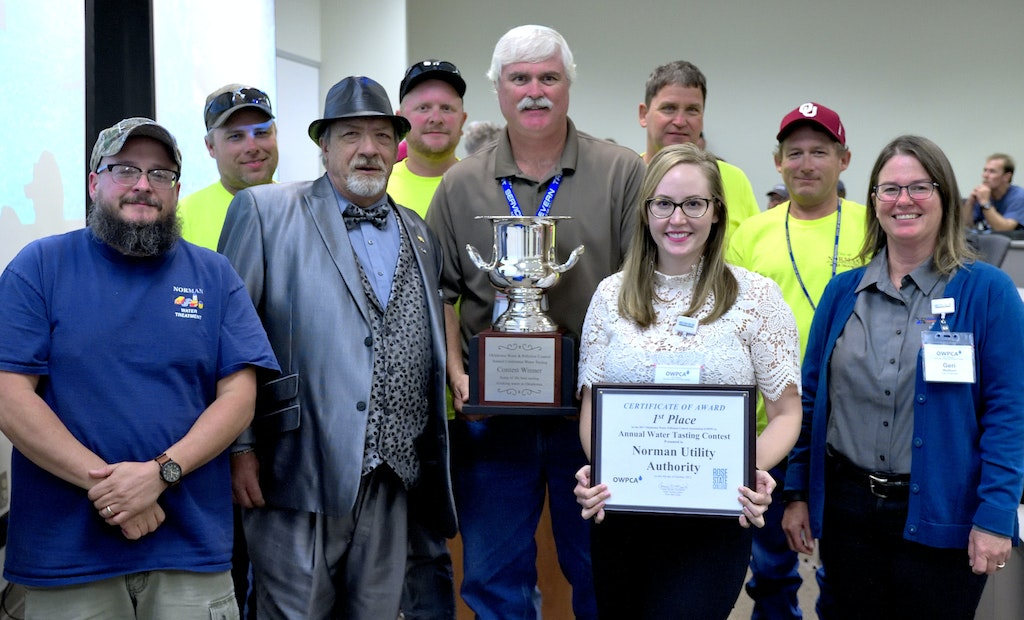 City of Norman Wins Big at Water Tasting Contest