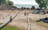 A Deep-Water Lake Michigan Water Plant Intake Gets an Innovative Cleaning