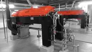 Centrifuges/Separators - Horizontal solid-bowl centrifuge