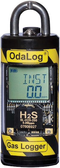 Odalog Sensors Monitor H2S Concentrations Accurately and Consistently, Helping to Avoid Hazards