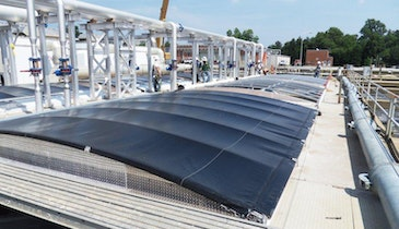Structurally Supported Tank Covers Simplify Plant Operations