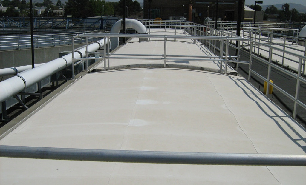 Tank Covers Help California District Streamline Plant Operations