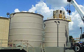 Bins/Hoppers/Silos - Fiberglass basins and wet wells