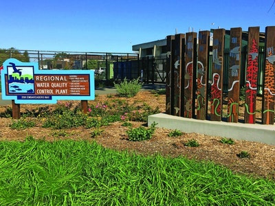 Community Stakeholders Design A Landscape For Palo Alto's Clean-Water Plant