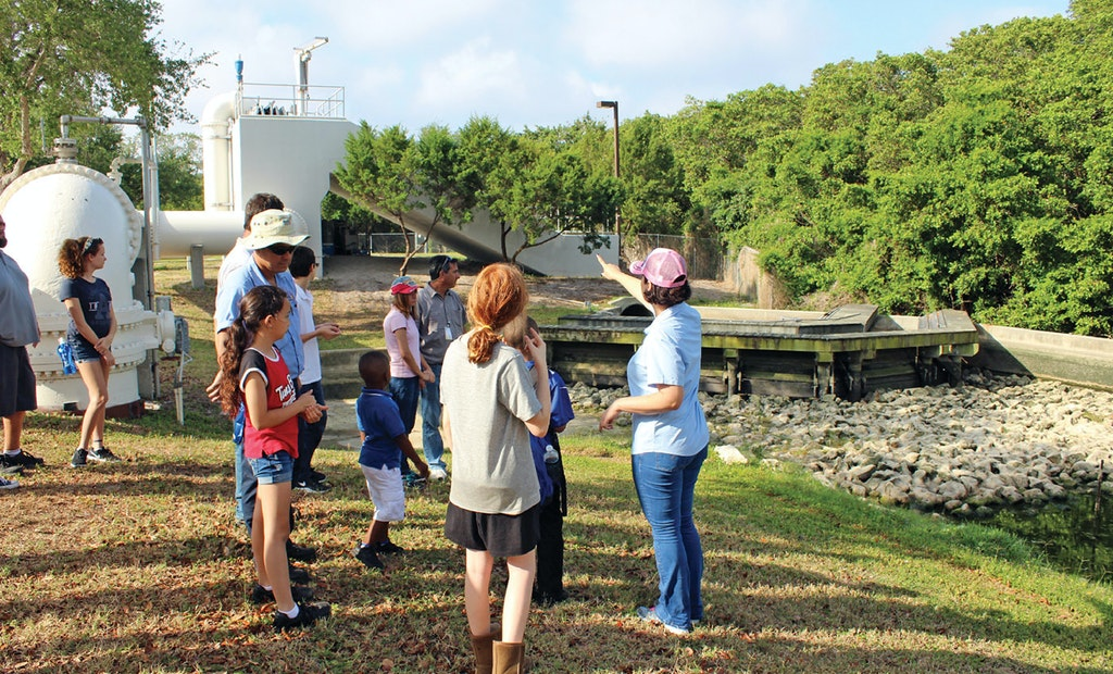 Pinellas County Students Learn About Wastewater on Site and in Class