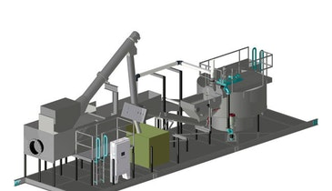 Pre-Engineered System Combines  Screening and Grit Removal