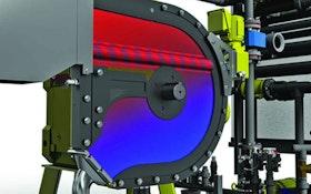 Mixers - High-capacity rotary fan press