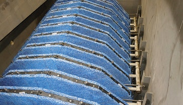 Microfiber Pile Cloth Media Removes  Solids, Turbidity and Phosphorus