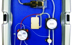 Ammonia monitor provides continuous chemical feedback