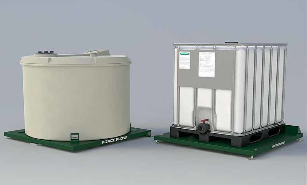 Force Flow Scales Safely Monitor Chemical Usage