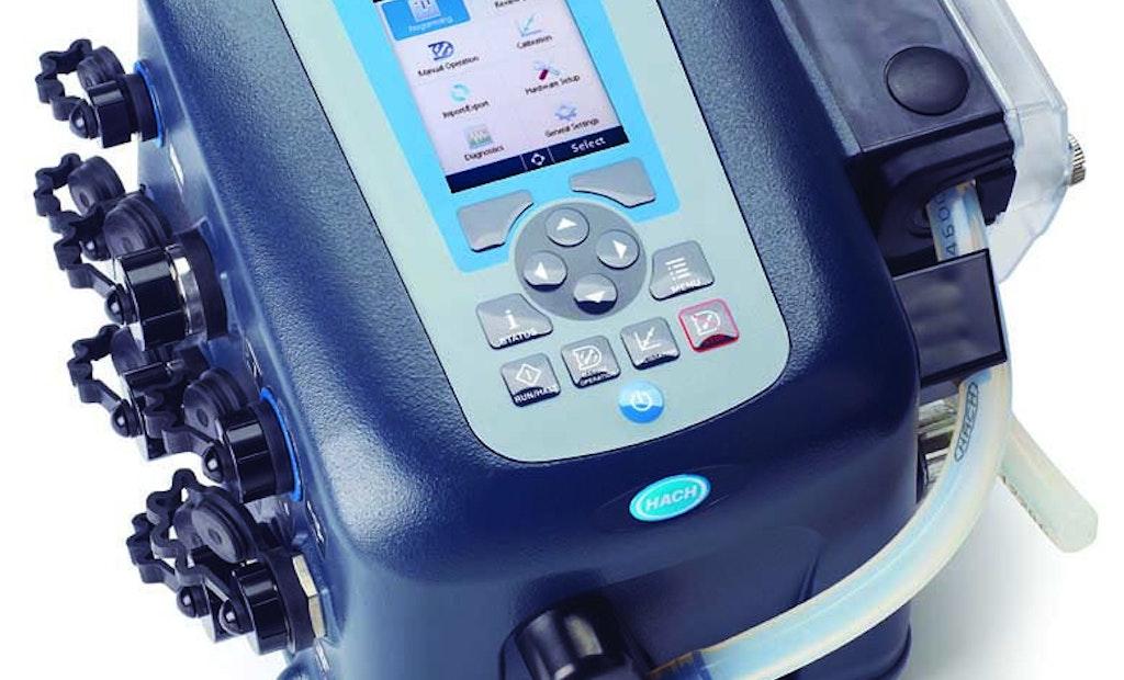 Sampler controller provides single-screen  programming, USB transfer capability