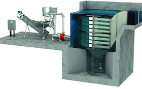 Hydro International Grit Removal System Adaptable For Intermittent Pumping