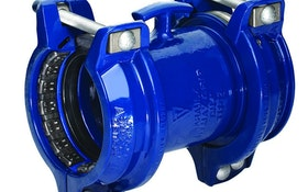 Coupling And Flange Adapter Allow Pipe Movement While Maintaining Seal