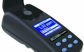 LaMotte Chlorine Colorimeter Meets IP67 Waterproof Standard