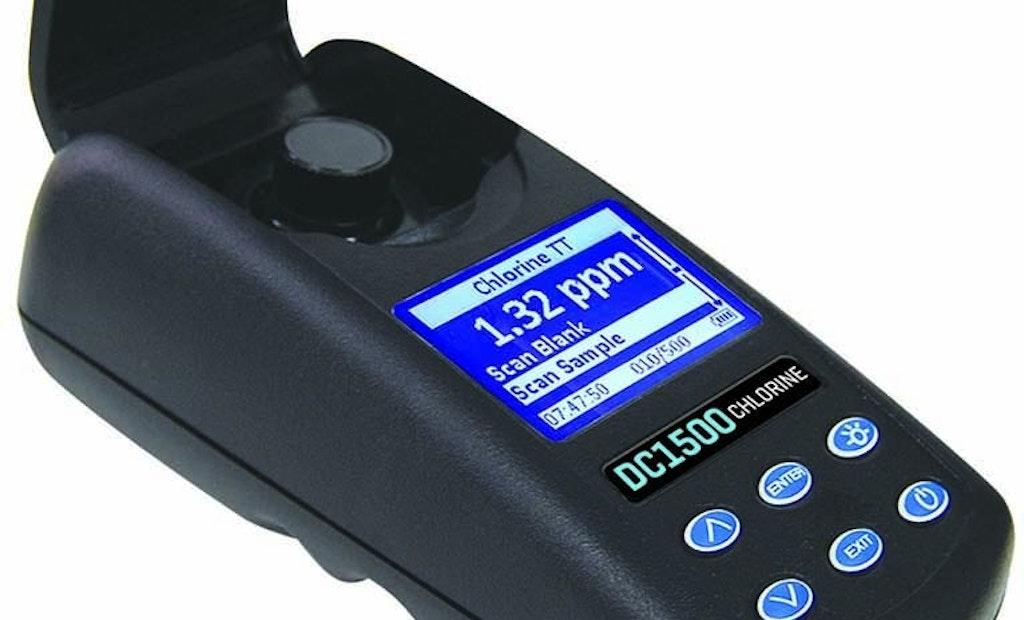 LaMotte Chlorine Colorimeter Meets IP67 Waterproof Standard