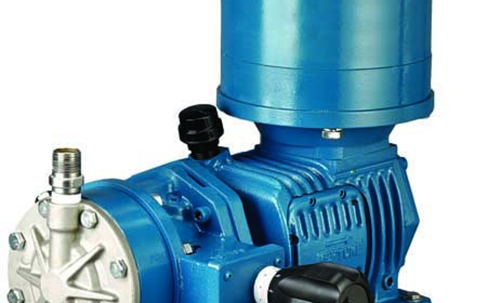 Neptune Mechanical Diaphragm Metering Pumps Offer High-Pressure, Flow-Through Design